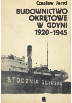 Budownictwo okrętowe w Gdyni 1920 1945