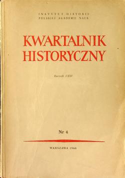 Kwartalnik historyczny rocznik LXXV nr 4