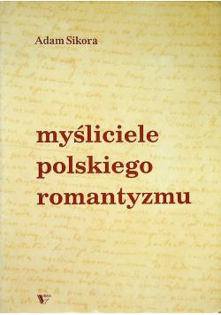 Myśliciele polskiego romantyzmu