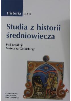 Studia z historii średniowiecza