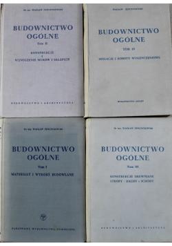 Budownictwo ogólne 4 tomy