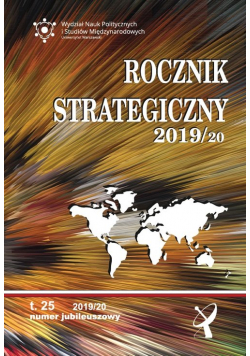 Rocznik Strategiczny 2019/2020  Tom 25