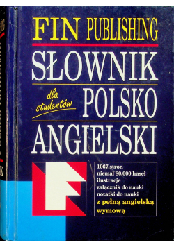 Słownik Polsko Angielski Dla studentów