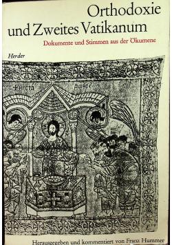 Orthodoxie und Zweites Vatikanum