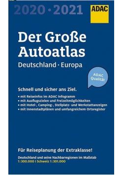 AutoAtlas ADAC. Deutschland, Europa 2020/2021