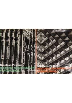 Historia architektury Europejskiej Tom I i II