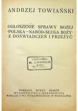 Towiański Pisma Wybrane 2 tomy 1920 r.