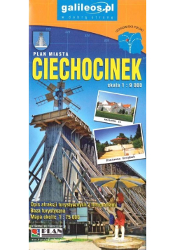 Plan miasta - Ciechocinek 1:9 000 w.VI
