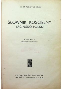 Słownik kościelny łacińsko - polski