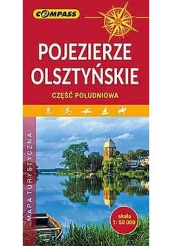 Mapa turystyczna - Pojezierze Olsztyńskie cz.poł