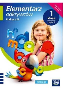 Elementarz odkrywców 1 Język Polski Podr.cz.4 2020
