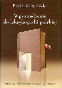 Wprowadzenie do leksykografii polskiej