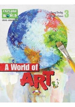 A World of Art. Reader Level 3 + DigiBook