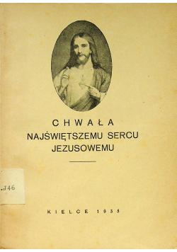 Chwała najświętszemu sercu Jezusowemu 1935 r.