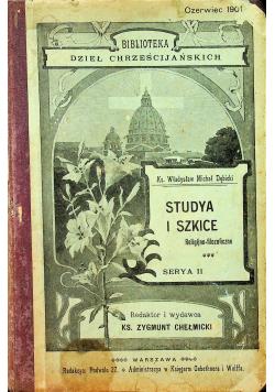 Studya i szkice Serya II 1901r