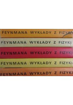 Feynmana wykłady z fizyki 5 książek