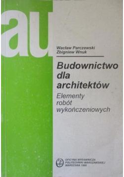 Budownictwo dla architektów