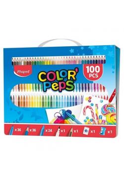 Zestaw artystyczny do malowania 100 elementów