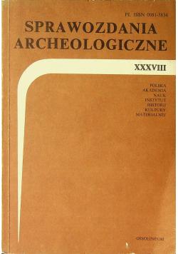 Sprawozdanie archeologiczne XXVIII