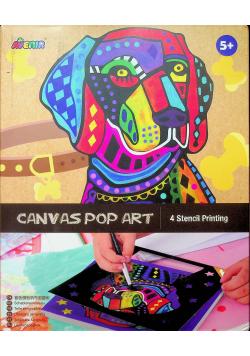 Płótno Pop art Pies