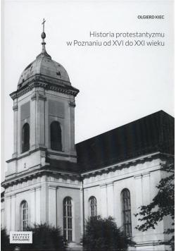 Historia protestantyzmu w Poznaniu od XVI do...
