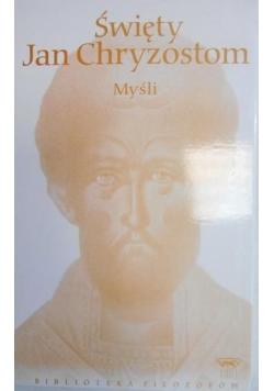 Święty Jan Chryzostom Myśli