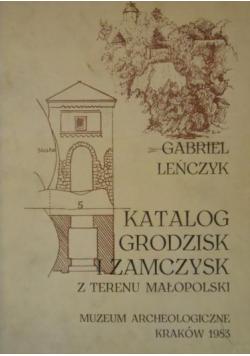 Katalog grodzisk i zamczysk z terenu małopolski