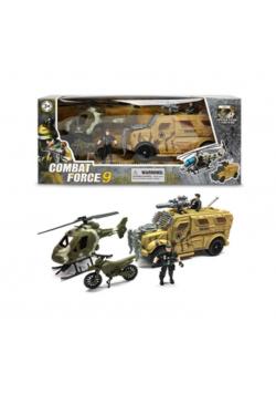 Zestaw wojskowy z wozem transportowym