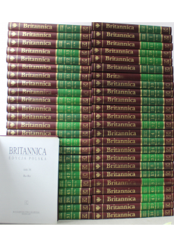 Encyklopedia Britannica KOMPLET 49 Tomów