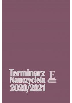 Terminarzy Nauczyciela 2020/2021 TW EUROPA