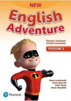 English Adventure New 3 AB wyd. roz. 2020 PEARSON