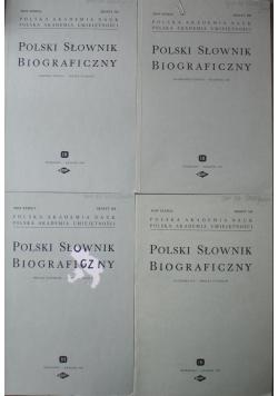 Polski Słownik Biograficzny Tom XXXIX 4 numery