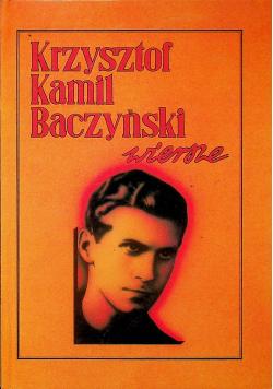 Baczyński Wiersze