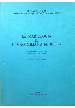 La Mariologia di s Massimiliano M Kolbe