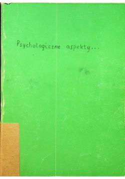 Psychologiczne aspekty śmierci umierania i żałoby