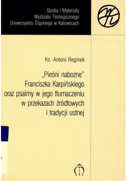Pieśni nabożne Franciszka Karpińskiego
