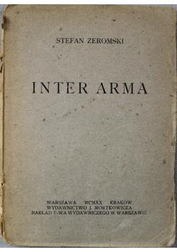 Inter Arma 1920 r.