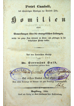 Homilien 1844 r.