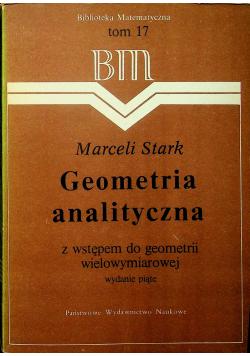 Geometria analityczna Tom 17