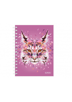 Brulion na spirali A5/100K kratka Wild Lynx (2szt)