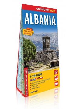 Comfort!map Albania 1:280 000 w.2019 mapa