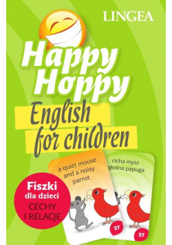 Happy Hoppy  Fiszki dla dzieci Cechy i relacje