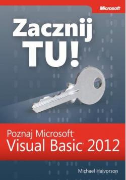 Zacznij Tu Poznaj Microsoft Visual Basic 2012