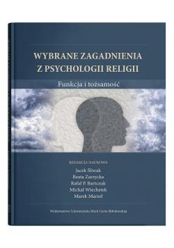 Wybrane zagadnienia z psychologii religii