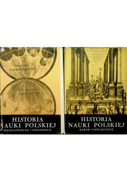 Historia nauki Polskiej tom od I do II