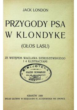Przygody psa w Klondyke 1909 r.