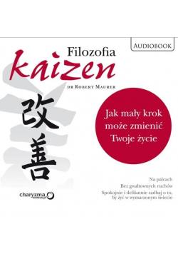 Filozofia Kaizen Jak mały krok może Audiobook NOWA