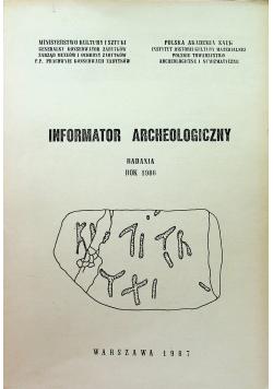 Informator Archeologiczny badania 1986