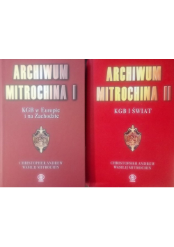 Archiwum Mitrochina 2 tomy