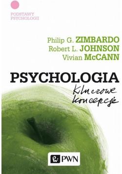 Psychologia kluczowe koncepcje Tom I Podstawy psychologii